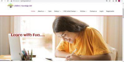Homepage_Sap Acad